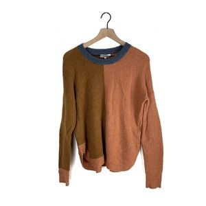 Madewell Westlake Colorblock Pullover Sweater